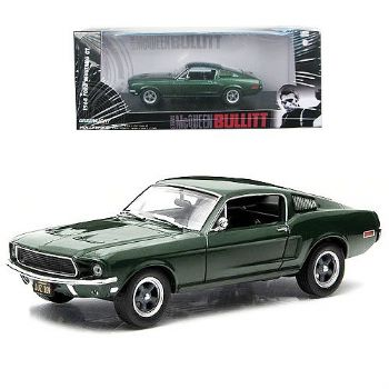 Bullitt 1968 Ford Mustang 1:43 Scale Diecast Greenlight